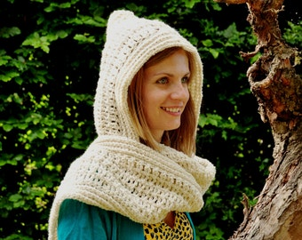 The Pickpocket Hood: Instant Download PDF Crochet Pattern