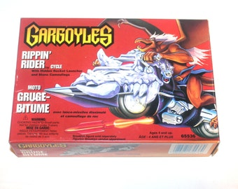 Vintage 1995 Kenner Gargoyles Rippin Rider Cycle, Vintage Toys, Antique Alchemy
