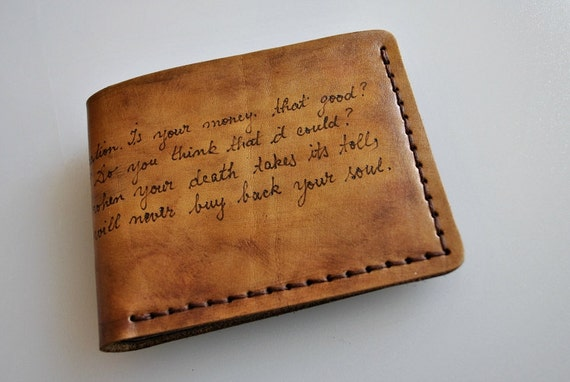 Wallet Personalized Men S Wallet Engraved By Styledbydeniss