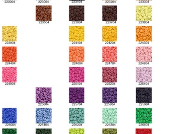 BEST DEAL!  Now get 500 Tiny Buttons of your color choice, 4mm, 2-hole, only 3.59!