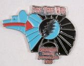 Grateful Dead Fare Thee Well Hat 50th Anniversary Pin Zuni Bear