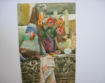 On Sale : The largest of the three original watercolors from 1960