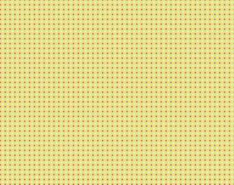 "Riley Blake Designs ""Enchant"" by Natalie Lymer of Cinderberry Stitches - Enchant Dots Green - 1/2 yard"