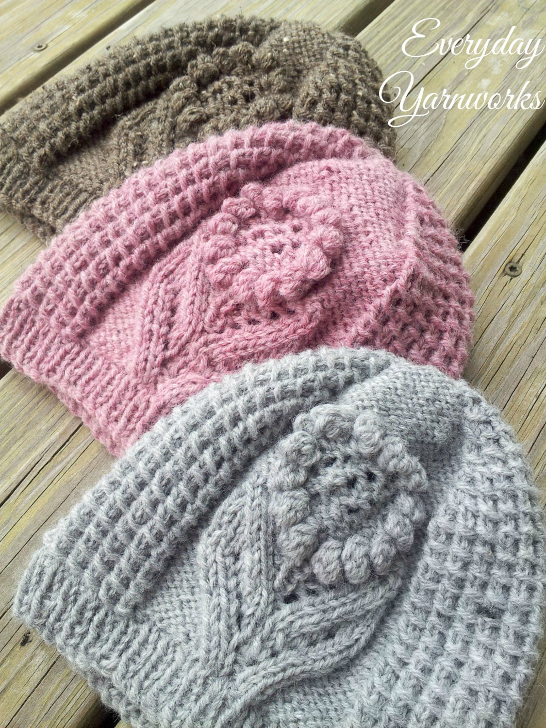 Knitting PATTERN Ode to Summer Hat // sport dk worsted and