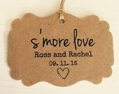 50 S'more Love Tags