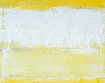 Digital Download - Snap Shot, Grey and Yellow Abstract Artwork