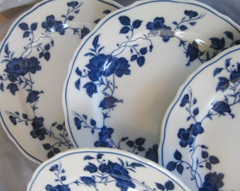 Royal Meissen China Bread Dessert plates  Like New Set of 4 is included