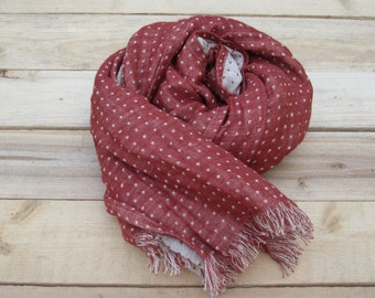 Scarf linen, linen accessories, scarf fwith fringe, Unisex, Linen scarf, Organic linen scarf, linen scarves, scarves, warm scarf