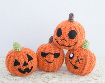 Pumpkin Stuffed Toy - Plush Pumpkins - Crochet Pumpkins