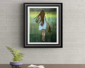About The Journey Signed Art Print By Rafi Perez
