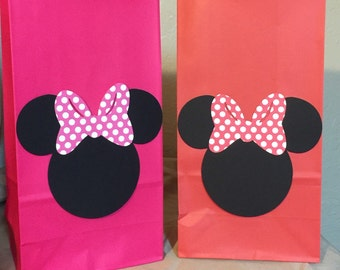Minnie Mouse Goody Bags - set of 12