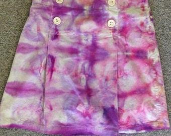 Funky Tie Dye Girls Skirt size 12 K022