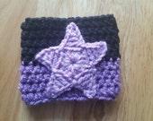 Amethyst Inspired Crochet Coffee Cozy - Coffee Sleeve - Steven Universe Inspired - Wristband