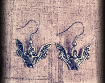 Bat Earrings