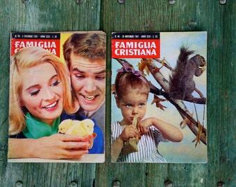 1961 November/December - La Famiglia Cristiana magazine