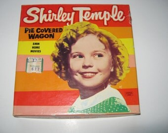"Shirley Temple ""Pie Covered Wagon"" 8 mm Home Movies 1950s"