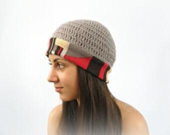 Crochet hat women hat, WINTER soft beanie hat, Skull cap