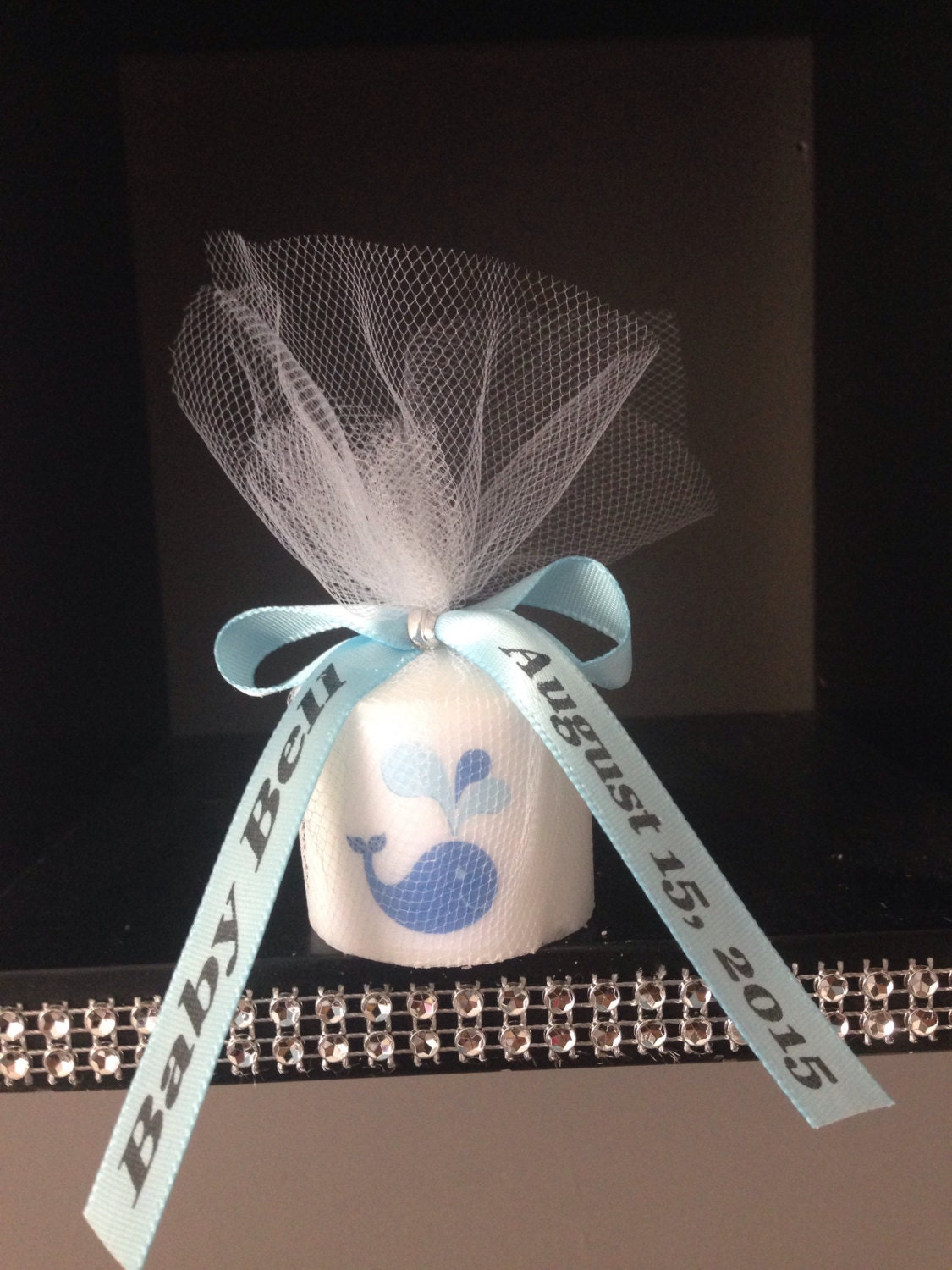 25 baby shower favors candle favor wedding favors whale