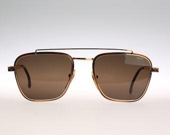 Vogart Police 1001 / Vintage aviator sunglasses / 90s Caravan style