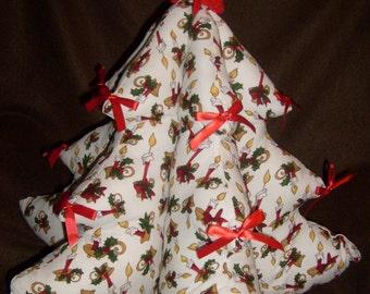 Sale!! Christmas Tree Centerpiece Candlesticks
