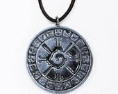 Hunab Ku, Maya inspired pendant for the Galactic energetic shift