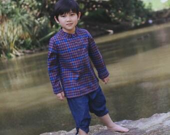Boys Clothing Coco Fisherman Denim Pants for Boys Toddler