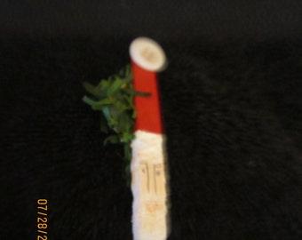 Santa Wooden Pin
