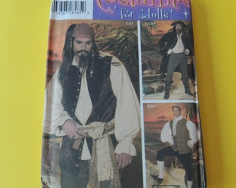 Simplicity 4923, Halloween Costume for Adults Uncut sizes xs,s,m