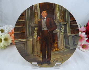 "1981 Limited Edition Knowles ""Rhett"" Gone with the Wind Collector Plate"