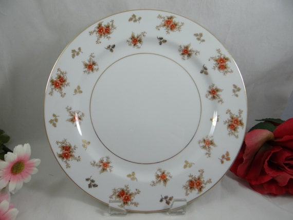 1950s Vintage Noritake China Dulcy Dinner Plate - 5 Available