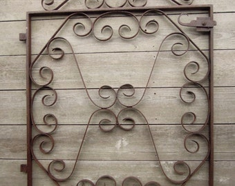 SALE - Wonderful Antique Iron Gate