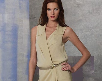 "Tunic & Pants by Donna Karan - 2010's - Vogue Pattern 1168   Uncut   Sizes 12-14-16-18  Bust 34-36-38-40"""