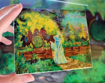Hobbit Home Reproduction on canvas Mini