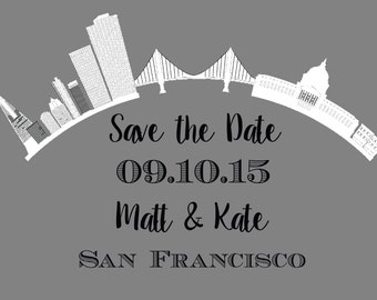 San Francisco Save the Date