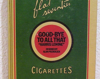 Good-Bye to All That by Harris Lewine, designed by Alan Peckolick 1970, First Edition