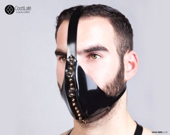 Latex Muzzle With Spikes