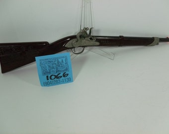1950's Davy Crockett Flintlock Buffalo Cap Rifle