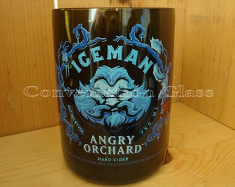 Angry Orchard Iceman Hard Cider Bottle Glass 18 oz