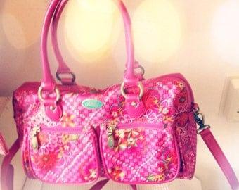 Handbag in pink