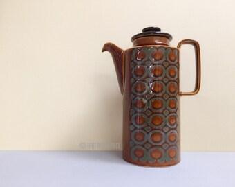 Hornsea Pottery 'Bronte' coffee / teapot (c. 1974)