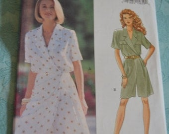 BUtterick 6705  Misses JUmpsuit  Sewing Pattern - UNCUT - Sizes 12 14 16