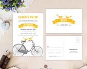 Vintage bicycle wedding i...