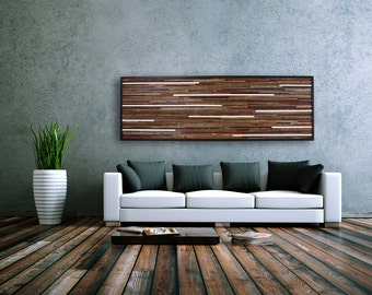 Reclaimed wood wall art made of old barnwood, Different Sizes Available, Large wall art, Large art, wood wall sculpture