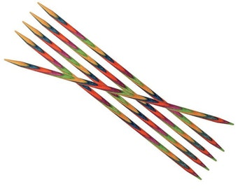 Knit Pro Symfonie Wood Double Pointed Needles 15cm Various Lengths