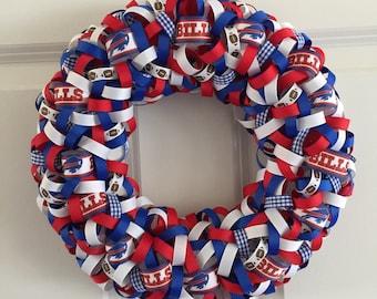 NFL Buffalo Bills Ribbon Wreath