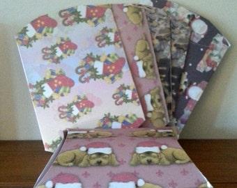 Handmade Christmas Pillow Gift Boxes Set Of 6