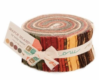Maple Island Jelly Roll by Holly Taylor for Moda