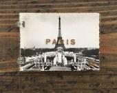 vintage souvenir photo collection • Paris France • mini photos • souvenir views