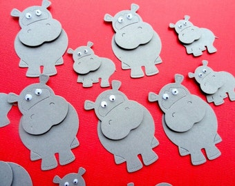 Hippo Die Cuts