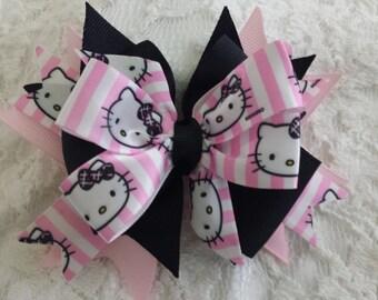 Kitty Hair Bow